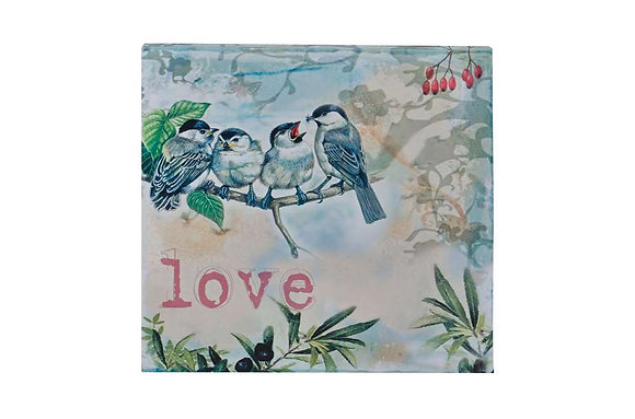 Bird Family Screen Print