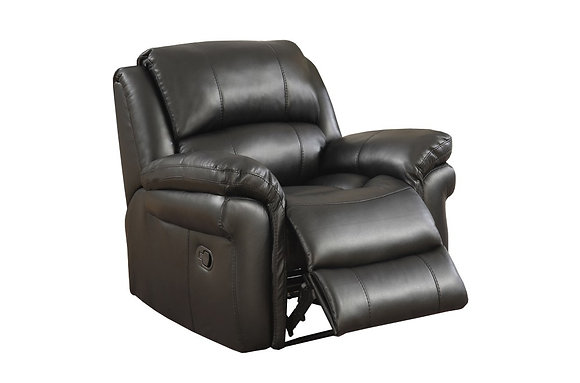 Farnhan Recliner Chair (Leather Look Fabric)