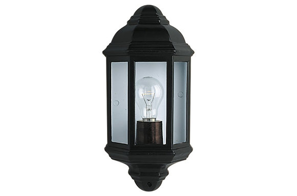 Searchlight Lighting Black Cast Aluminium Outdoor Light