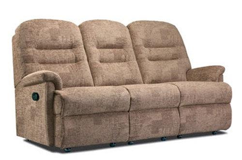 Sherborne Keswick Small 3 Seater Manual Recliner Sofa