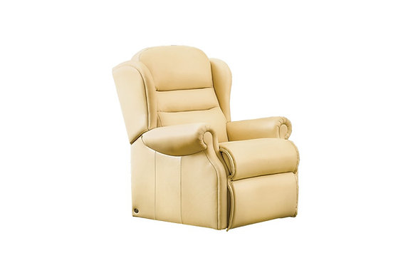 Sherborne Ashford Leather Small Armchair