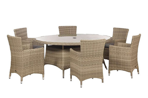 Royalcraft Wentworth 6 Seater Oval Carver Set