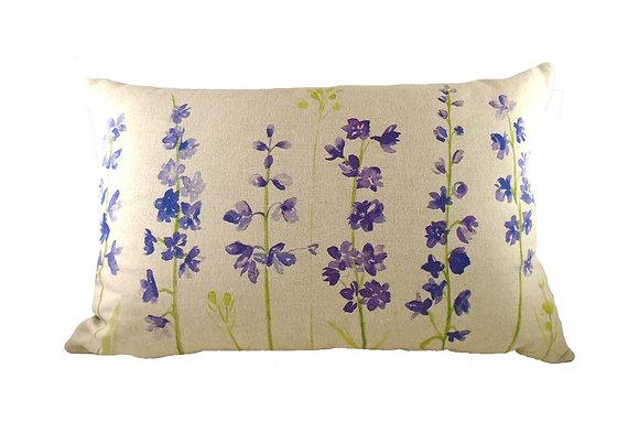 Jardin Delphiniums Cushion