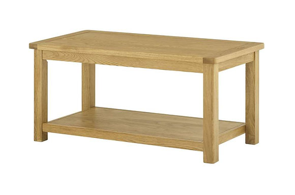 Portland Oak Coffee Table