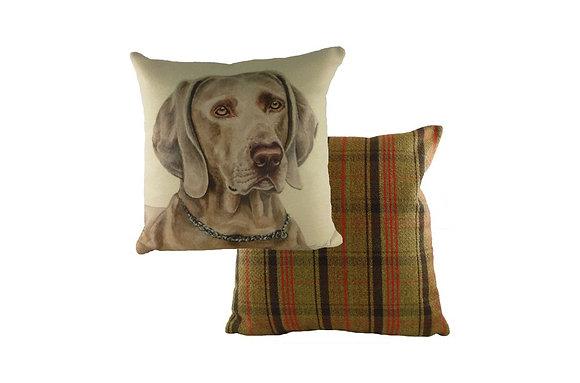 Waggydogz Weimaraner Cushion