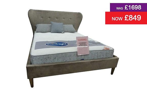 Eliston Bedstead & 150cm Memory Foam Mattress