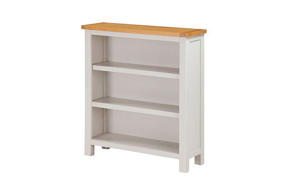 Hartford Painted Low Wide Bookcase