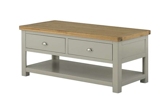 Clifton Coffee Table with Drawers