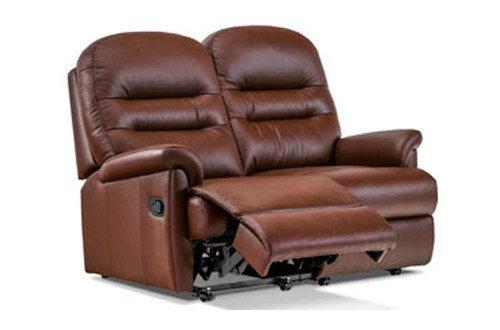 Sherborne Keswick Leather 2 Seater Manual Recliner Sofa