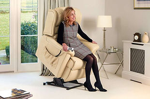 Sherborne Olivia Leather Lift & Rise Care Recliner Chair