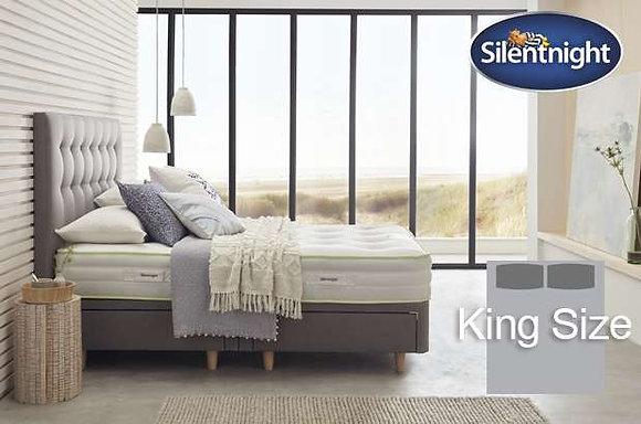 Silentnight Eco Comfort Breathe 1200 Mirapocket King Size Divan Bed