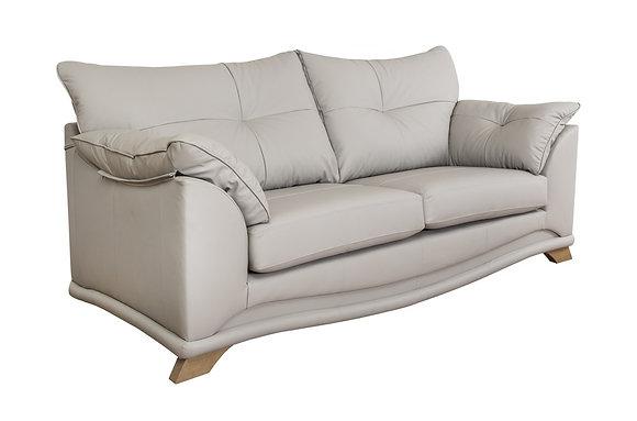 Kidman Leather 3 Seater Sofa