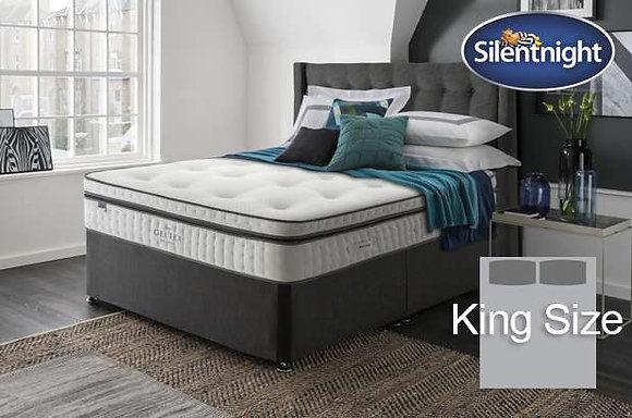 Silentnight Picasso Mirapocket King Size Divan Bed with Geltex