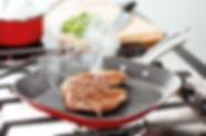 Stellar Cast Iron Collection - Cast, iron, grill, pan, non- stick