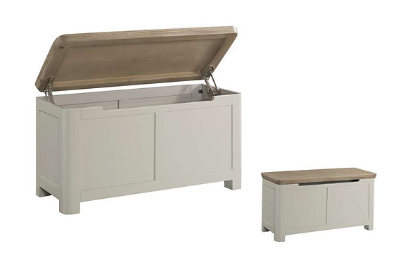 Treviso Painted Blanket Box
