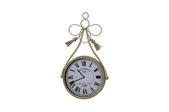 Braided Tassle Round Wall Clock