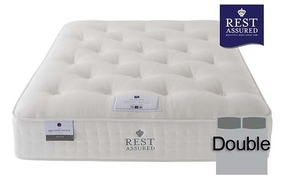 Rest Assured British Wool Softer Comfort Double Mattress