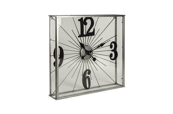 Addison See Through Wall Clock
