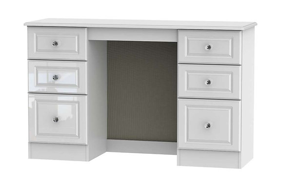 Balmoral 6 Drawer Kneehole Dressing Table