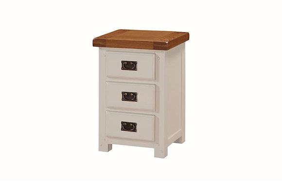 Heritage 3 Drawer Bedside