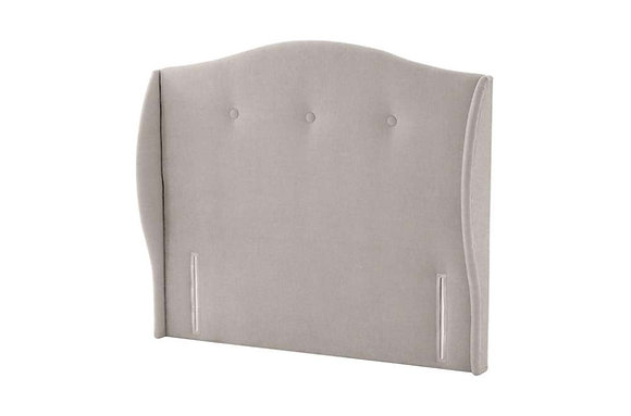 Silentnight Camden Floorstanding Fabric Upholstered Headboard