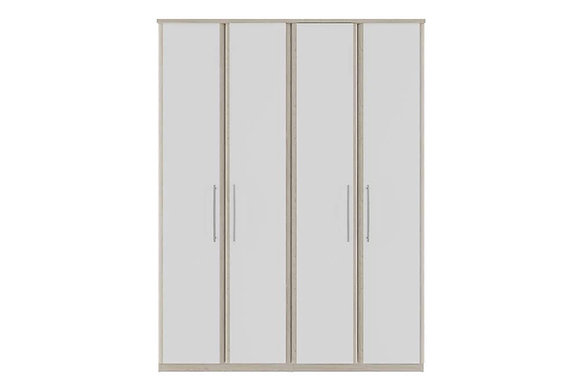 Kingstown Azure Tall 4 Door Wardrobe