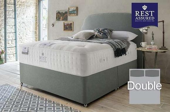 Rest Assured British Wool Medium Comfort Double Divan