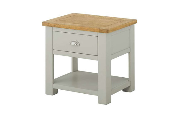 Portland Lamp Table with Drawer