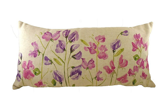 Jardin Sweet pea Cushion