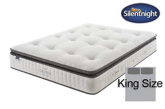 Silentnight Elson Miracoil King Size Mattress with Geltex