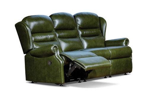 Sherborne Ashford Leather Standard 3 Seater Manual Recliner Sofa