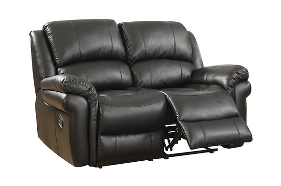 Farnhan 2 Seater Recliner Sofa (Leather Look Fabric)