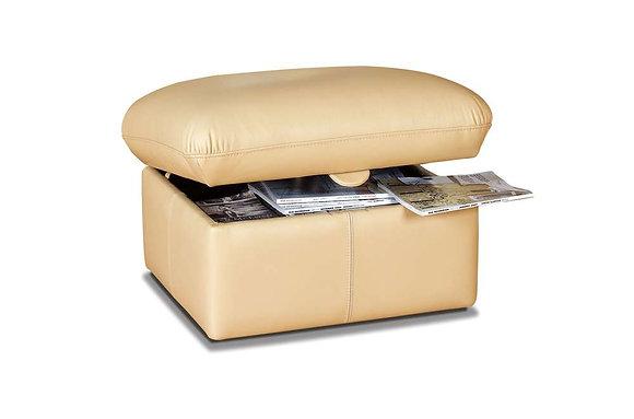 Sherborne Olivia Leather Storage Footstool