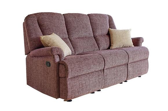 Sherborne Milburn 3 Seater Recliner Sofa