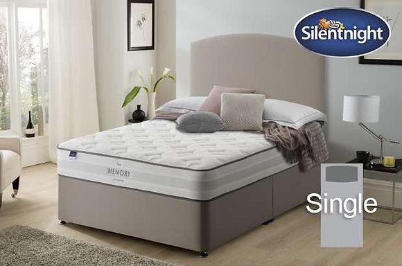 Silentnight Ruscha Miracoil Single Divan Bed with Memory Foam