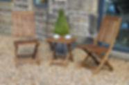 Acacia Wood Outdoor Furniture
