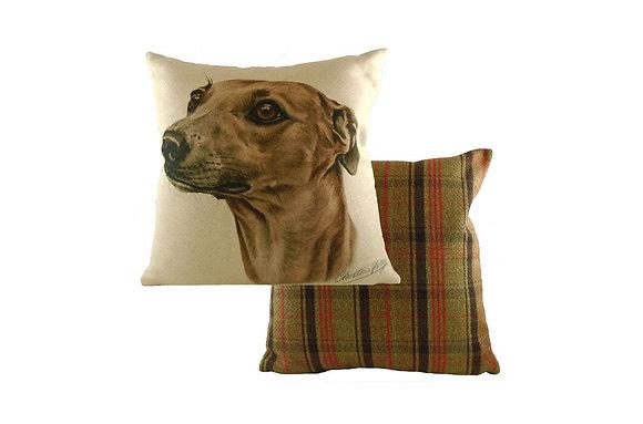 Waggydogz Whippet Cushion