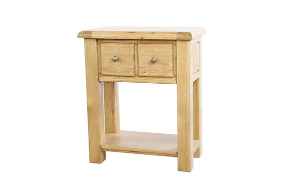 Sienna Small 2 Drawer Console Table