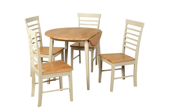 Berlin Round Drop Leaf Dining Table