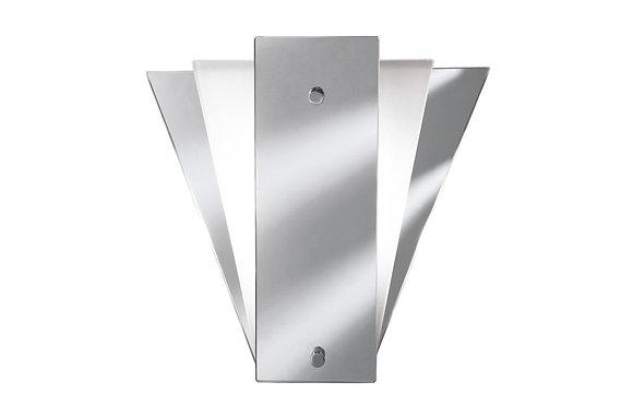 Searchlight Lighting Fan Style Mirror Wall Light