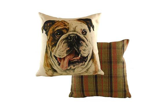Waggydogz Bulldog Cushion