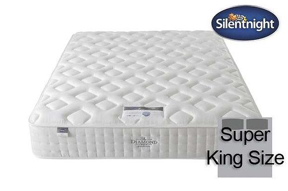Silentnight Diamond Mirapocket Elisa 1400 Super King Size Mattress