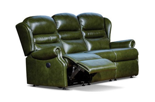 Sherborne Ashford Leather Standard 3 Seater Power Recliner Sofa