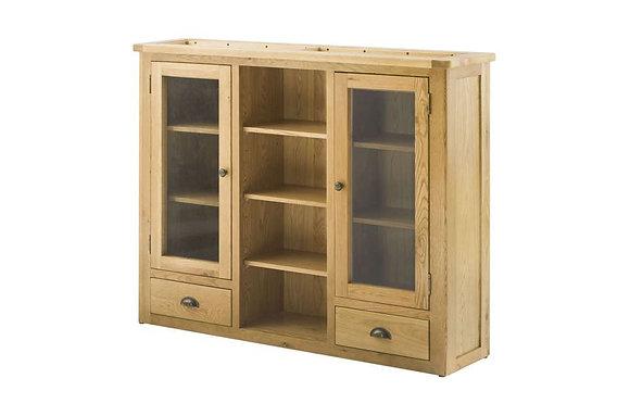 Portland Oak 3 Door Dresser Top