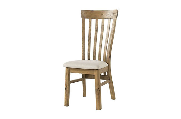 Lyon Dining Chair with Fabric Seat