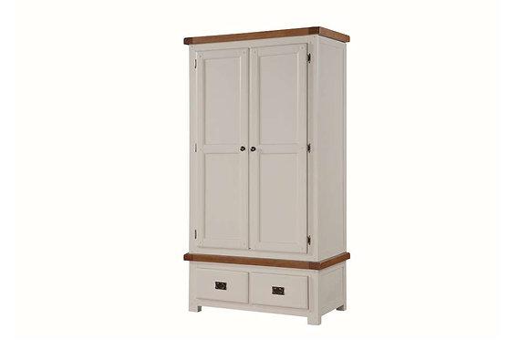Heritage 2 Door, 2 Drawer Wardrobe
