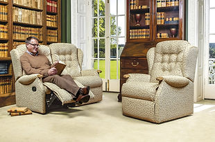 Sherborne Lynton Knuckle Recliner Sofa and Armchair
