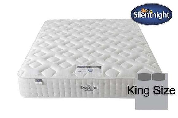 Silentnight Diamond Mirapocket Elisa 1400 King Size Mattress