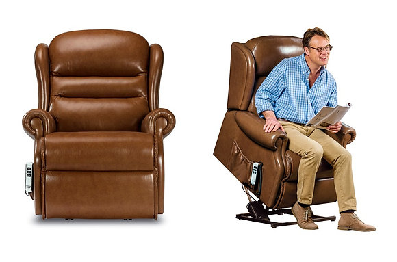Sherborne Ashford Leather Royale Lift & Rise Care Recliner Chair