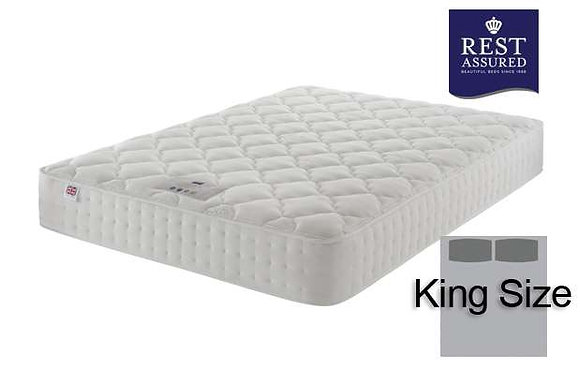 Rest Assured Timeless Cleeve Silk 1400 King Size Mattress
